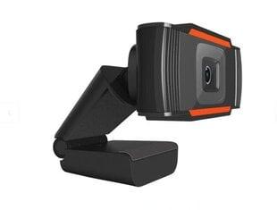 Tīmekļa kamera ar mikrofonu, Hallo Webcam HD720p B1 USB cena un informācija | Datoru (WEB) kameras | 220.lv