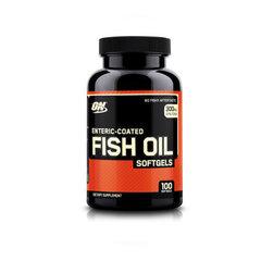 Uztura bagātinātājs Optimum Nutrition FISH OIL 100 kaps cena un informācija | Vitamīni | 220.lv