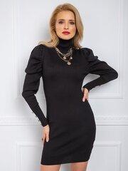 Sieviešu kleita Alejandra, melna cena un informācija | Kleitas | 220.lv