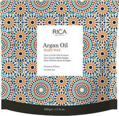 Cietais argāna eļļas vasks diskos RICA, 500 g cena un informācija | Cietais argāna eļļas vasks diskos RICA, 500 g | 220.lv