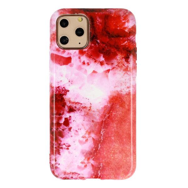 iPhone 12 / 12 Pro vāciņš Marble Silicone, D5 cena
