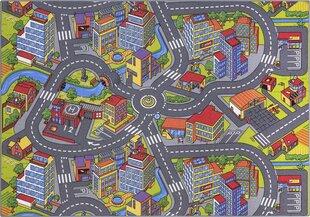 Bērnu paklājs Smart City Multi 140x200 cm cena un informācija | Paklāji | 220.lv