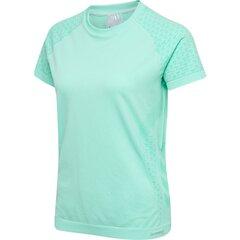 T-krekls sievietēm Hummel Ci Seamless, zila cena un informācija | T-krekli sievietēm | 220.lv