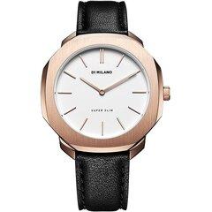 Sieviešu rokas pulkstenis D1 Milano Super Slim, melns cena un informācija | Sieviešu rokas pulkstenis D1 Milano Super Slim, melns | 220.lv