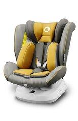 Autokrēsliņš Lionelo Bastiaan One Isofix, 0-36 kg, Yellow Mustard cena un informācija | Autokrēsliņi | 220.lv