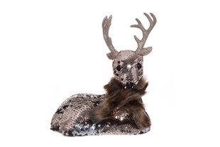 Ziemassvētku rotājums Briedis cena un informācija | Ziemassvētku dekorācijas | 220.lv
