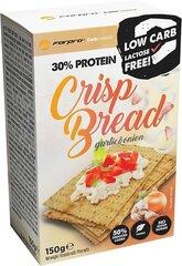 Kraukšķīga maize ar 30% olbaltumvielu saturu - ķiploki un sīpoli 150 g cena un informācija | Funkcionālā pārtika | 220.lv