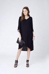 Viskozes kleita grūtniecēm Woven Fluted Sleeve Dress cena un informācija | Kleitas | 220.lv
