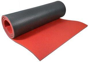 Jogas paklājiņš EB Fit 180x61x0,8 cm, sarkans cena un informācija | Vingrošanas paklāji | 220.lv