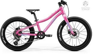 "Bērnu velosipēds Merida MATTS J.20+ 20"" 2020, rozā cena un informācija | Bērnu velosipēds Merida MATTS J.20+ 20"" 2020, rozā | 220.lv"