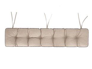 Spilvens soliņam Etna Oxford 150x40 cm, smilškrāsas cena un informācija | Krēslu paliktņi | 220.lv