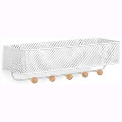 Drēbju pakaramais balts cena un informācija | Drēbju pakaramais balts | 220.lv