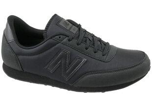Sporta apavi vīriešiem New Balance U410BBK, melni cena un informācija | Sporta apavi vīriešiem | 220.lv