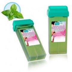 Vasks kasetnē Depil-OK Mint, 100ml cena un informācija | Personīgā higiēna | 220.lv