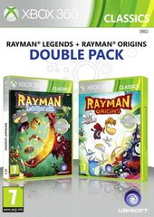 Xbox 360 Rayman Legends and Rayman Origins Double Pack cena un informācija | Xbox 360 Rayman Legends and Rayman Origins Double Pack | 220.lv