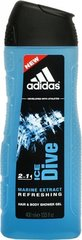 Dušas želeja Adidas Ice Dive 400 ml