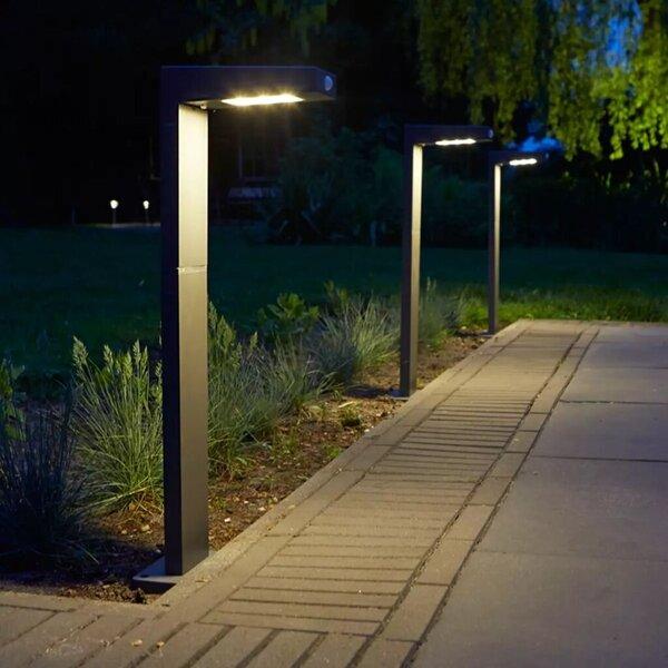 Luxform solāra LED dārza lampa Alberta, antracītpelēka, 39177 atsauksme