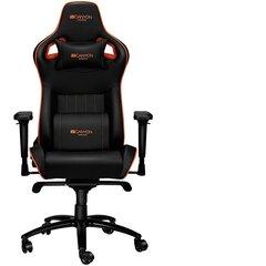 Spēļu krēsls Canyon Corax CND-SGCH5, melns/oranžs cena un informācija | Biroja krēsli | 220.lv