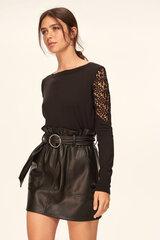 Sieviešu džemperis, melns cena un informācija | Džemperi sievietēm | 220.lv