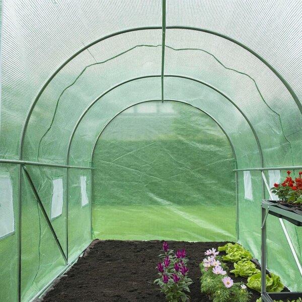Nature siltumnīca, zaļa, 3,5x2x2 m