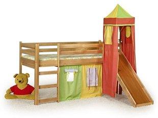 Bērnu gulta ar slidkalniņu Flo cena un informācija | Staigulīši | 220.lv
