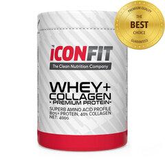 Iconfit Whey + collagen 400 g cena un informācija | Proteīni | 220.lv