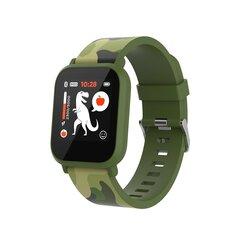 Bērnu viedpulkstenis Canyon My Dino KW-33, Green camouflage cena un informācija | Viedpulksteņi (smartwatch) | 220.lv