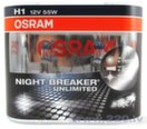 Osram spuldzes H1 12V 55W Night Breaker Unlimited