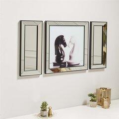 Triju daļu reprodukcija Kalune Design Šahs 552NOS2104 cena un informācija | Gleznas | 220.lv