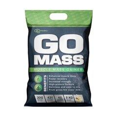 Uztura bagātinātājs Go Powders Go Mass Gainer ar vaniļas garšu, 5 kg cena un informācija | Proteīni | 220.lv