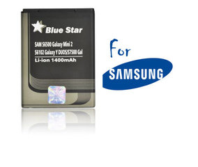 Blue Star Samsung EB464358VU priekš Samsung S7500 Galaxy Ace Plus, S6500 Galaxy mini 2, S6102 GalaxyY Duos (analogs)