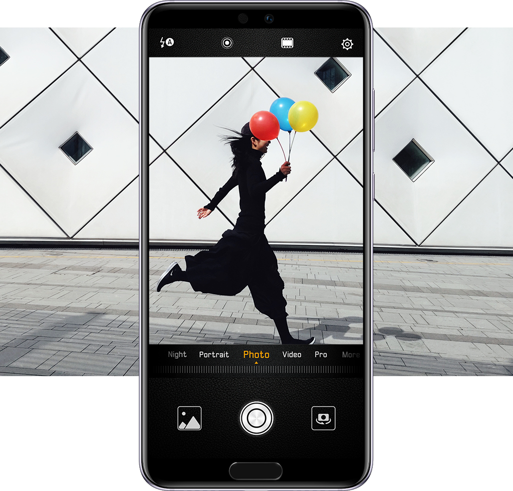 HUAWEI P20 photo burst