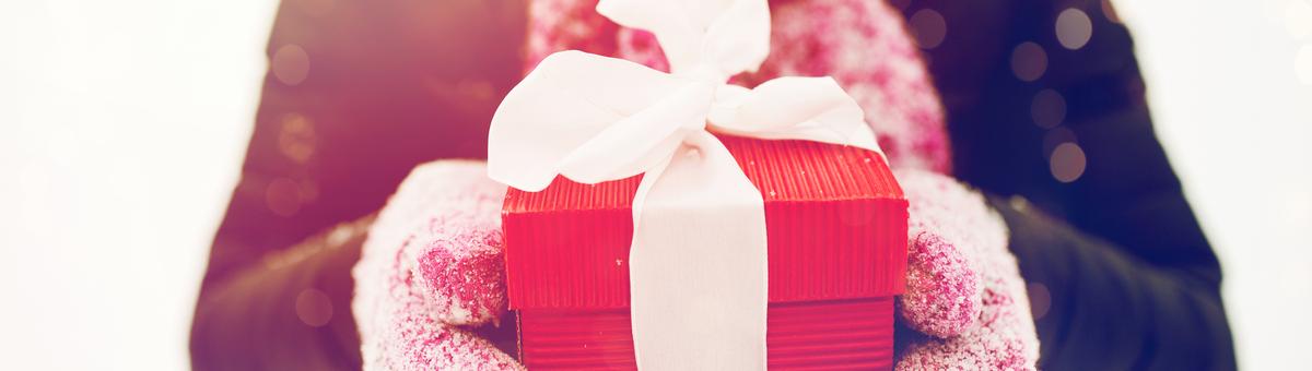 символические подарки на Рождество