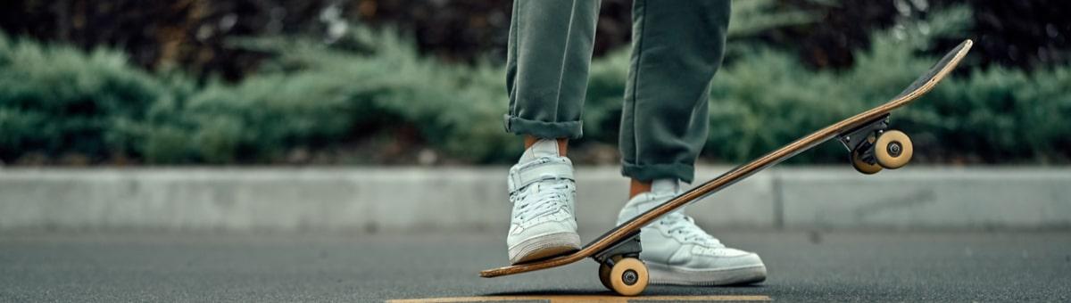 Первые шаги на скейтборде - полезные советы