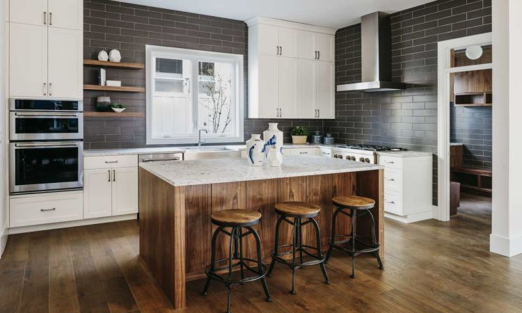 virtuves sala moderna